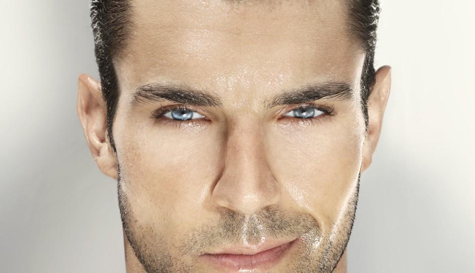Уход за мужской кожей трехшаговая процедура необычно пахнущих средств маску для лица