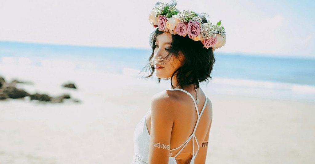 Летняя свадьба красавицы