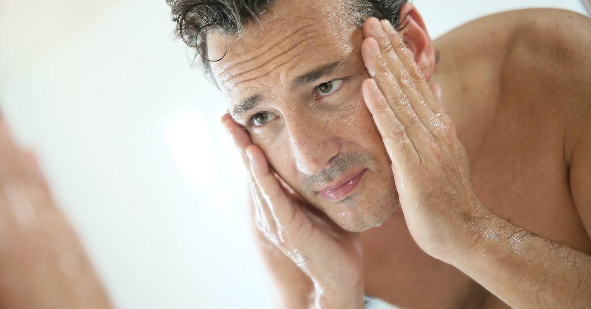 Процедура ухода за кожей для мужчин консультация косметолога